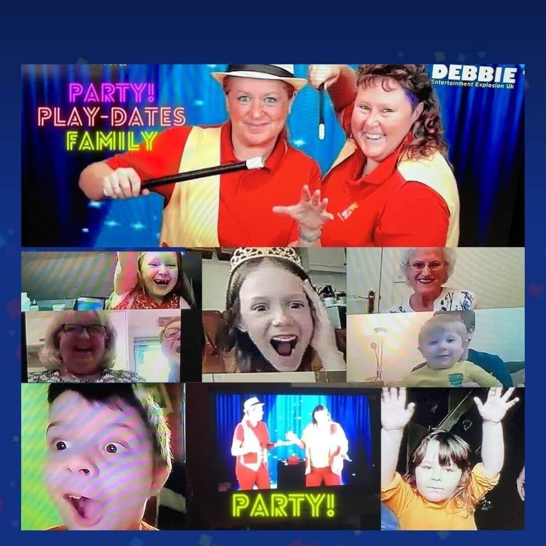 Zoom Birthday Parties
