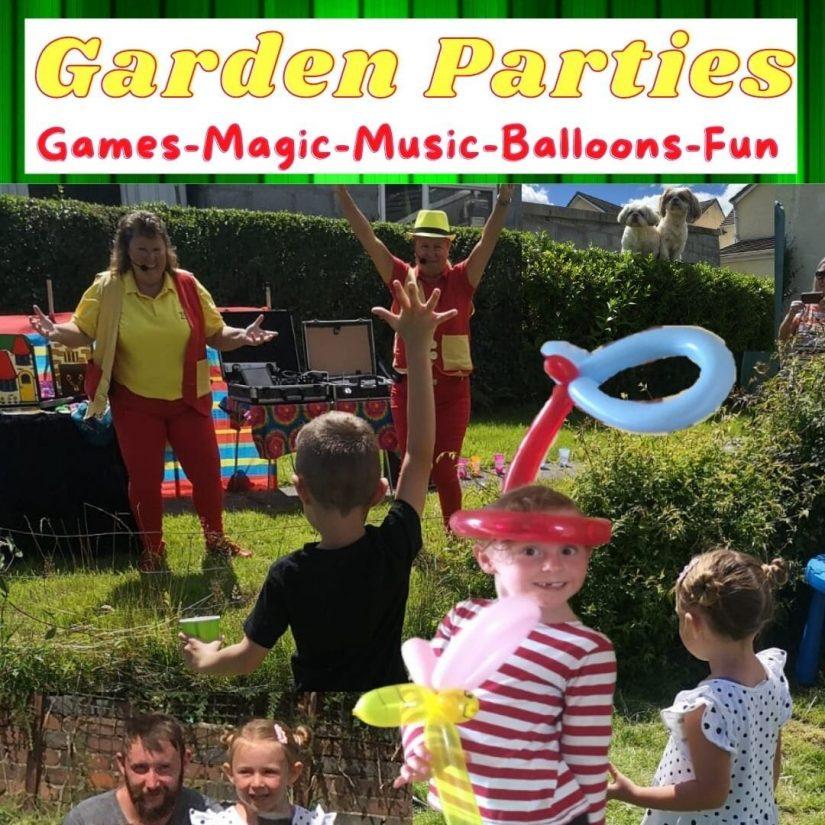 Children's Garden Parties – Top Tips To Help Make Your Garden Party A Success.